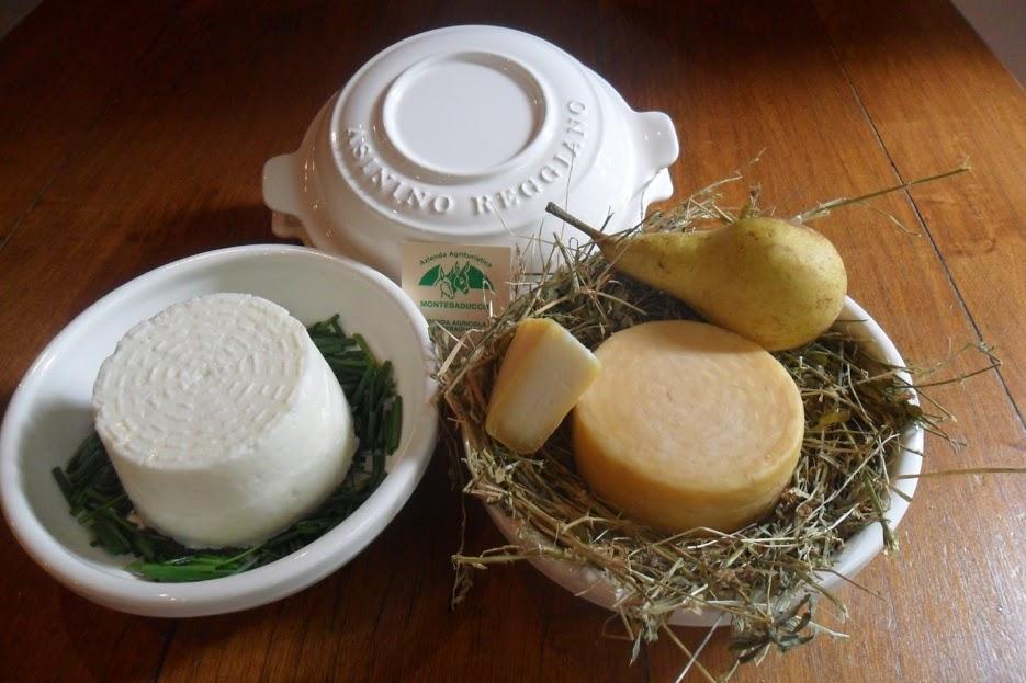 Il prio formaggio al mondo di solo latte di asina